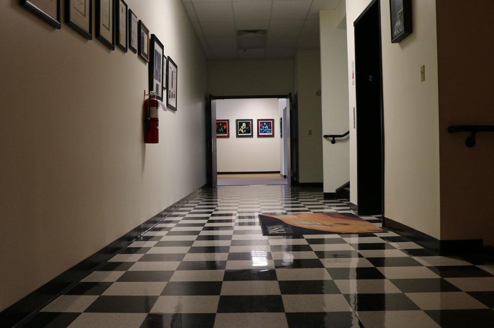 Dentro de las oficinas de PRS