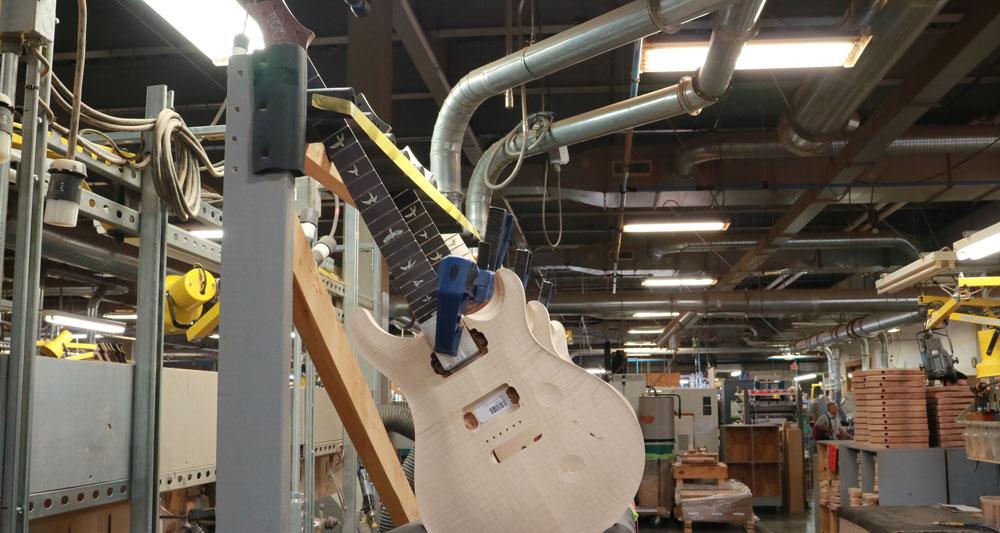 Dentro de la fábrica PRS